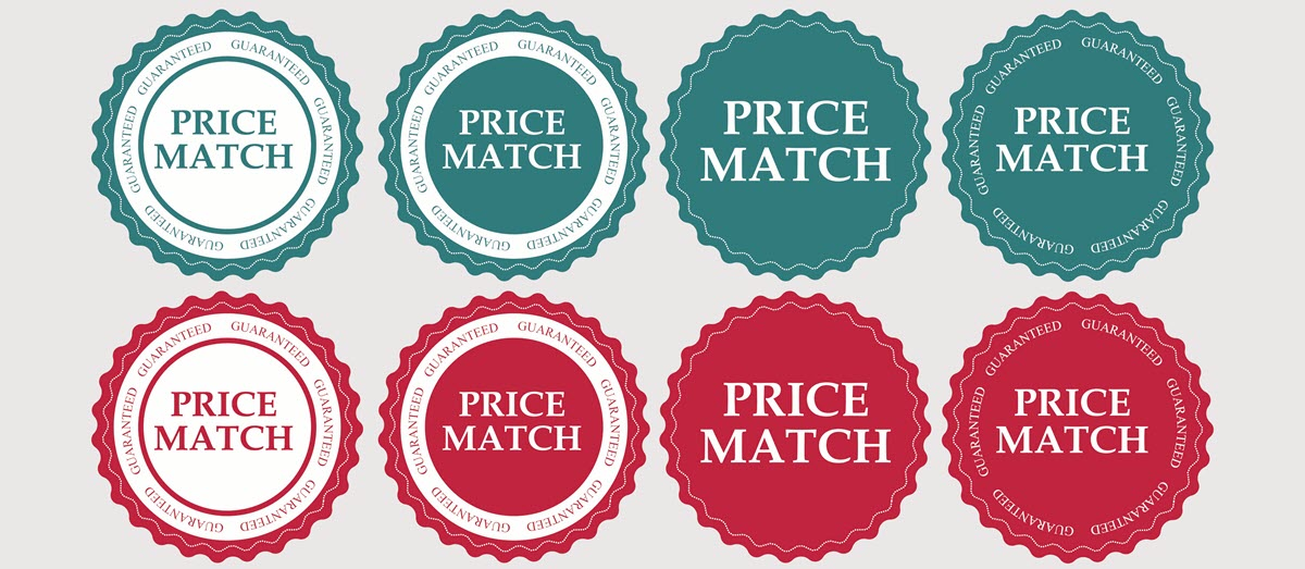Three Price Matching Policies