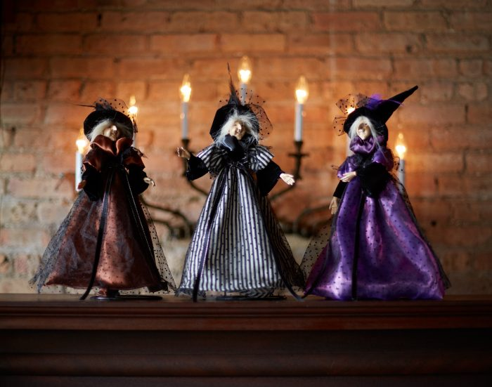 Fall under the spell halloween and fall decor for 3 witches halloween decoration