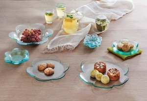 Annieglass tableware