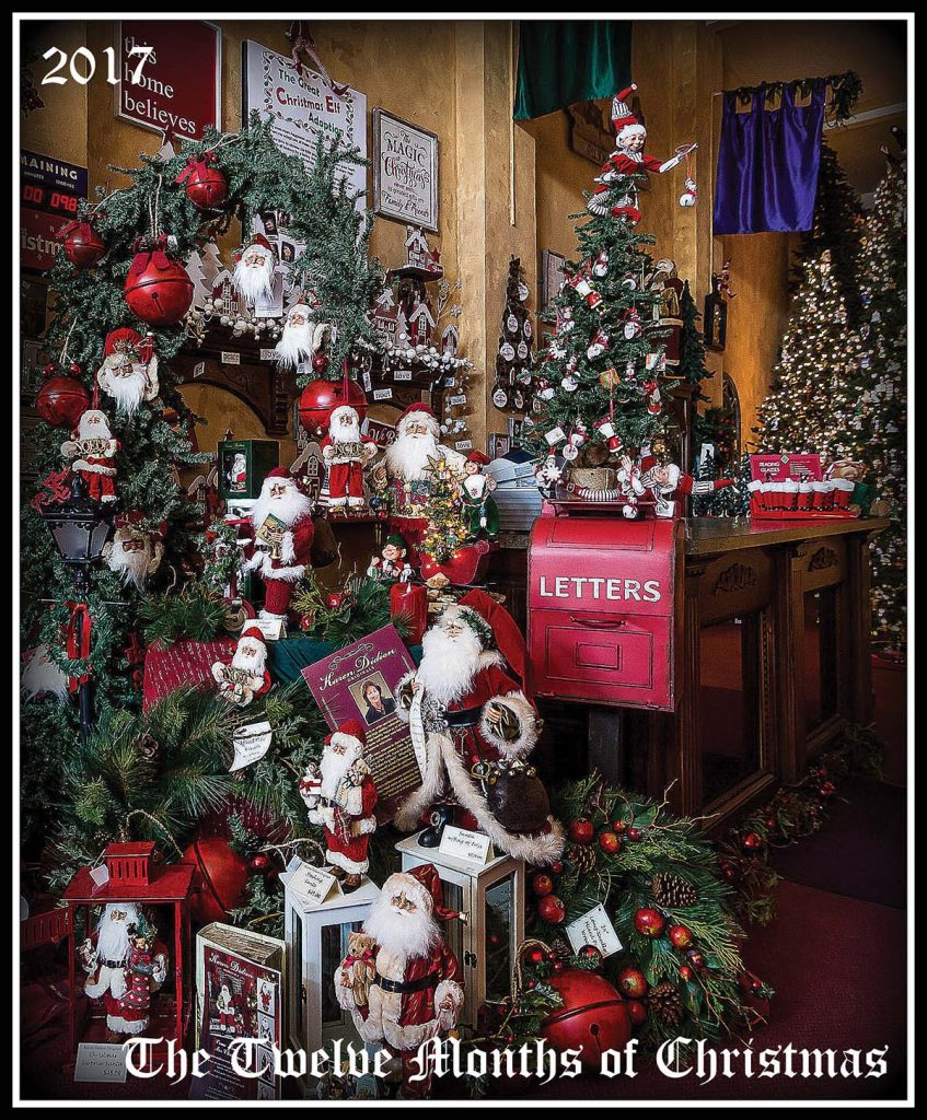 Bedford, Indiana Gift Shop: The Twelve Months Of Christmas