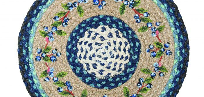 EarthRugs Blueberry rug