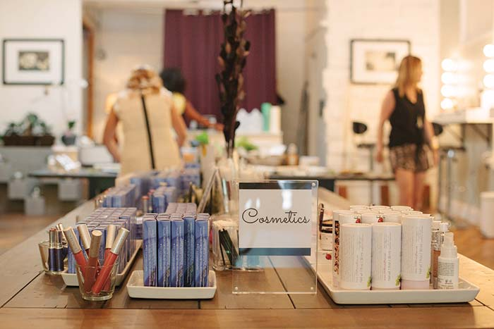 Cosmetics at Fig & Flower