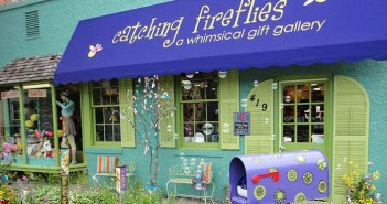 Catching Fireflies exterior of gift shop