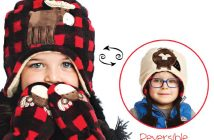 FlapJack Kids Reversible Winter Hat