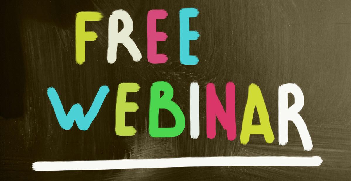 IMC Presents Free Webinar Series
