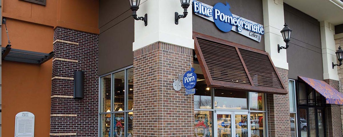Omaha Nebraska Gift Shop: Blue Pomegranate Gallery