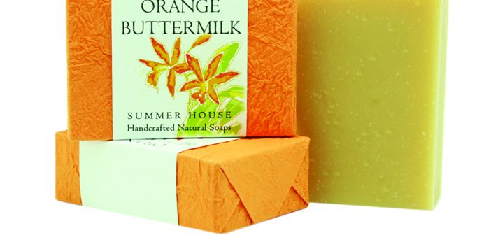Orange buttermilk