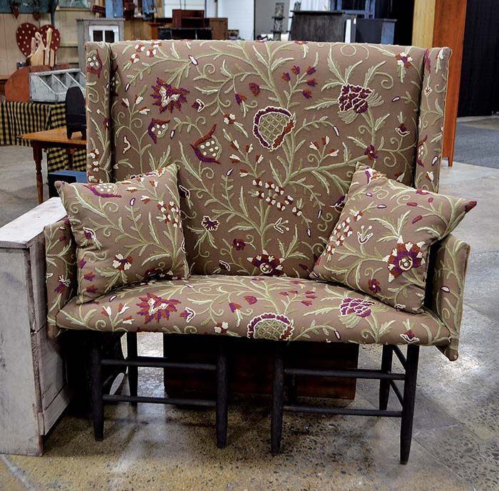 Upholstered Chair at Market Trade Show