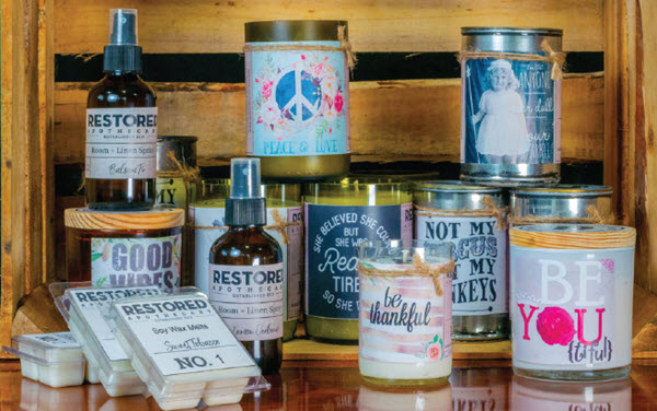 Restored Apothecary Upcycled Products