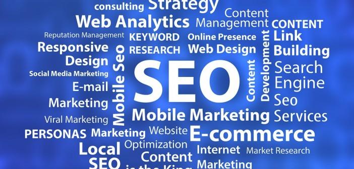 SEO Optimization E-Commerce tag cloud