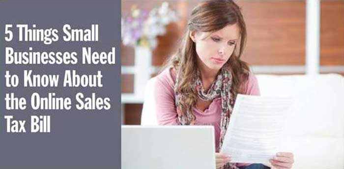 5 Things Small Businesses Need to Know About the Online Sales Tax Bill
