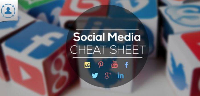 Social Media Cheat Sheet Omnicore