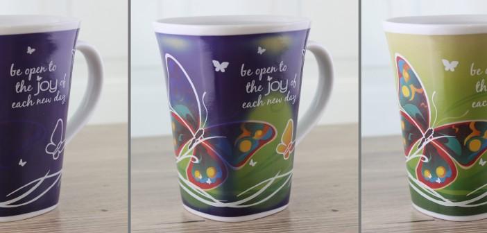 Color-changing story mug - Joy