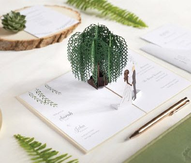 Willow Wedding Invitation Suite