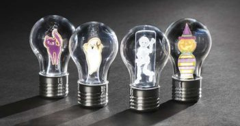 Ghostly lightbulbs