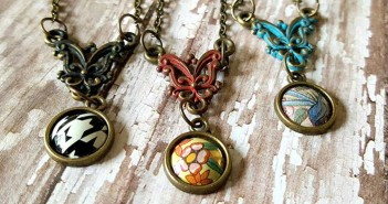 Popli Tin necklaces